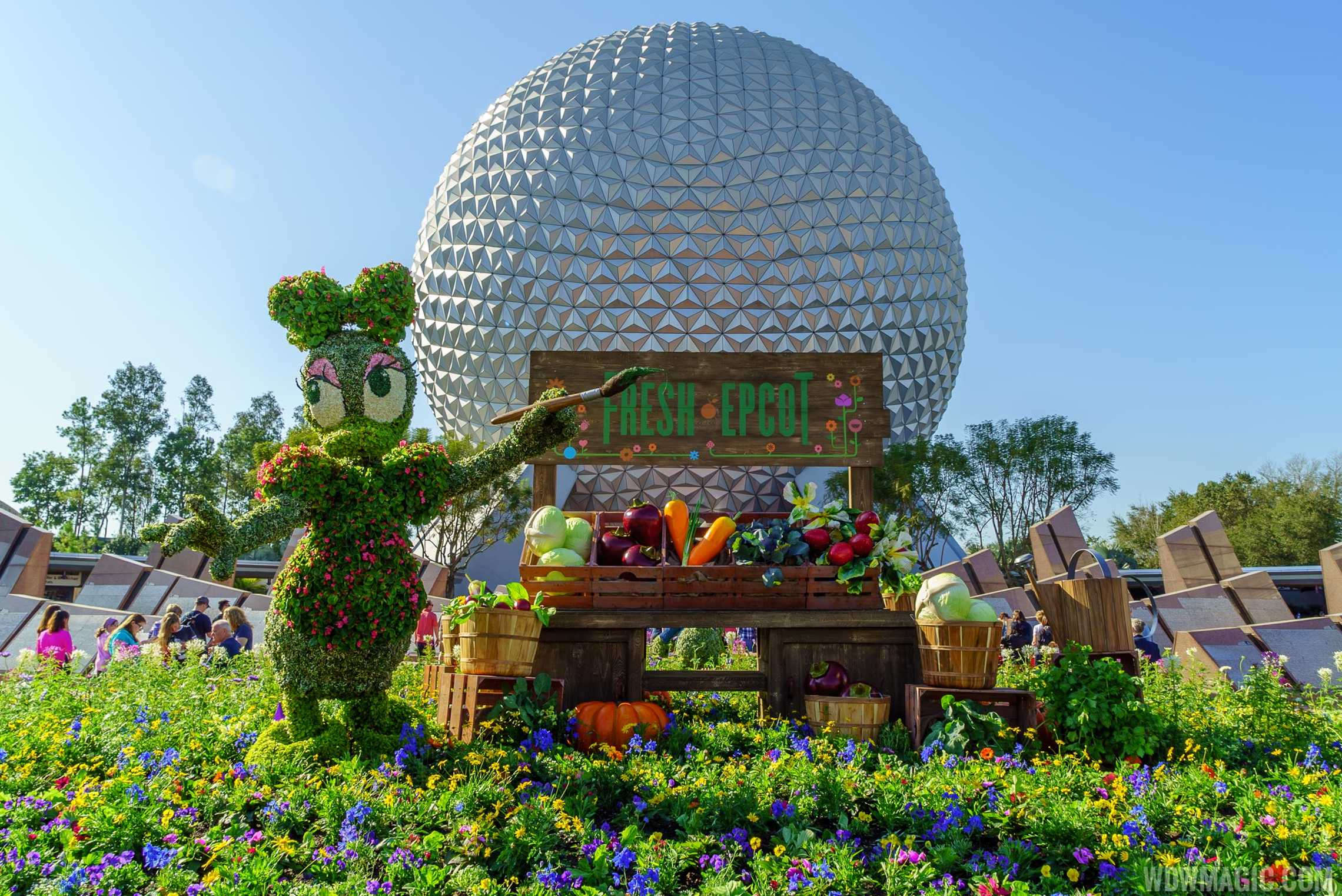 2016 Epcot International Flower And Garden Festival Topiary Tour Photo 1 Of 88