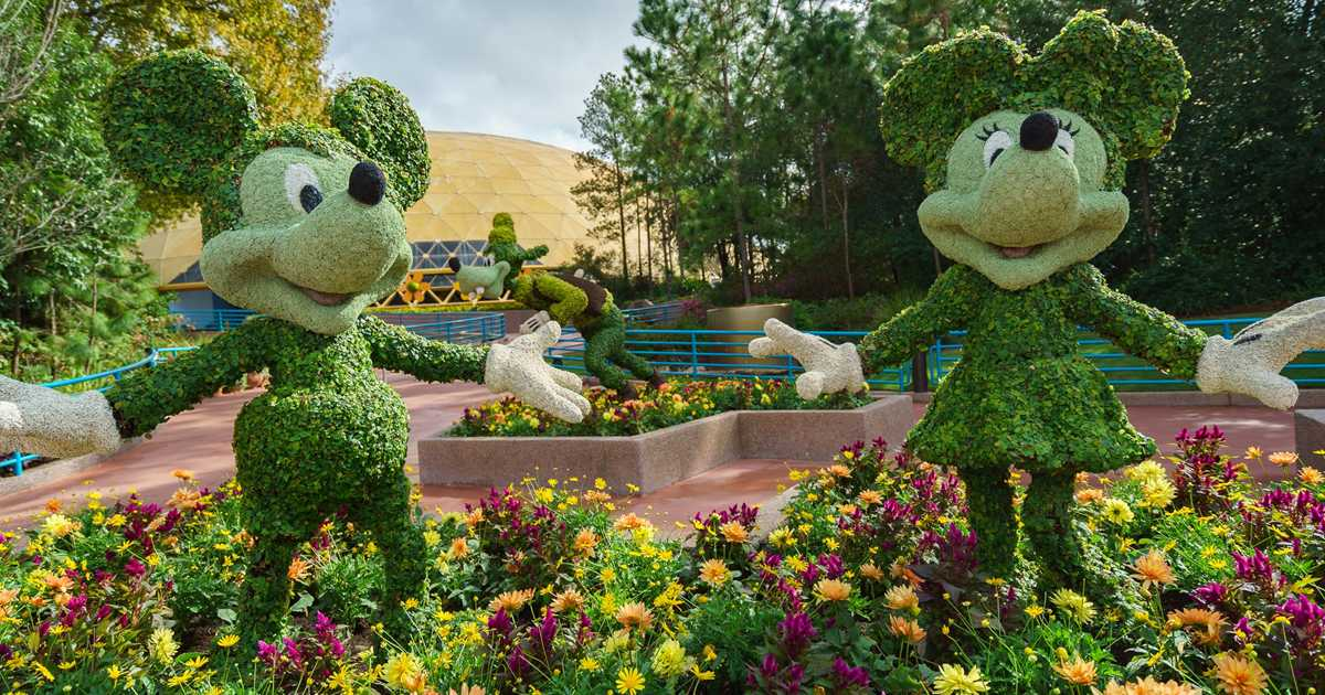 2017 Epcot International Flower And Garden Festival Topiary Tour Photo 8 Of 58