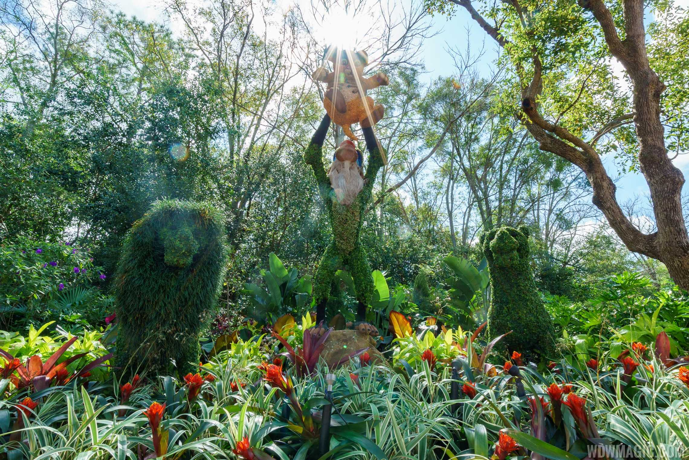 2017 Epcot International Flower And Garden Festival Topiary Tour Photo 37 Of 58