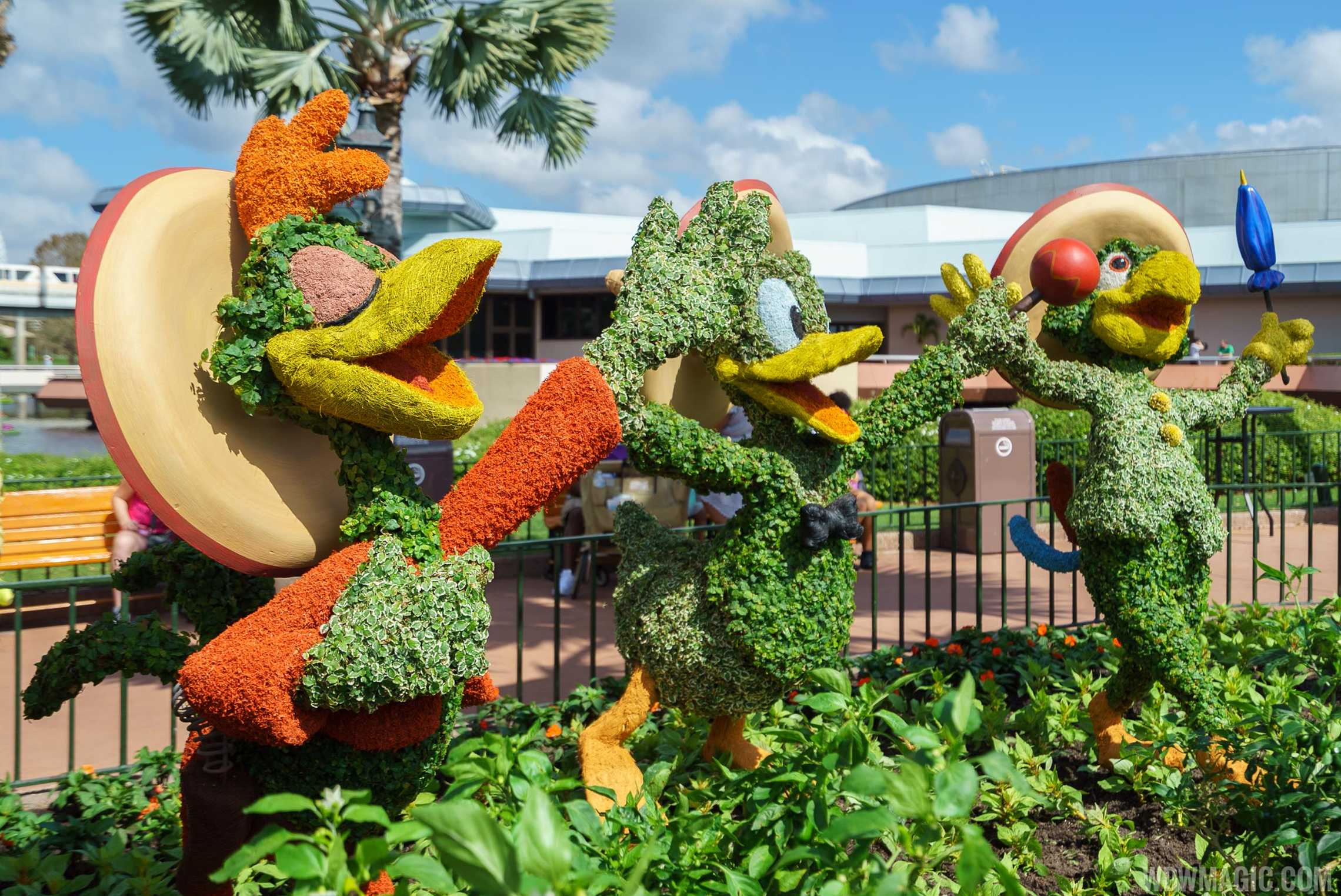 2017 Epcot International Flower And Garden Festival Topiary Tour Photo 43 Of 58