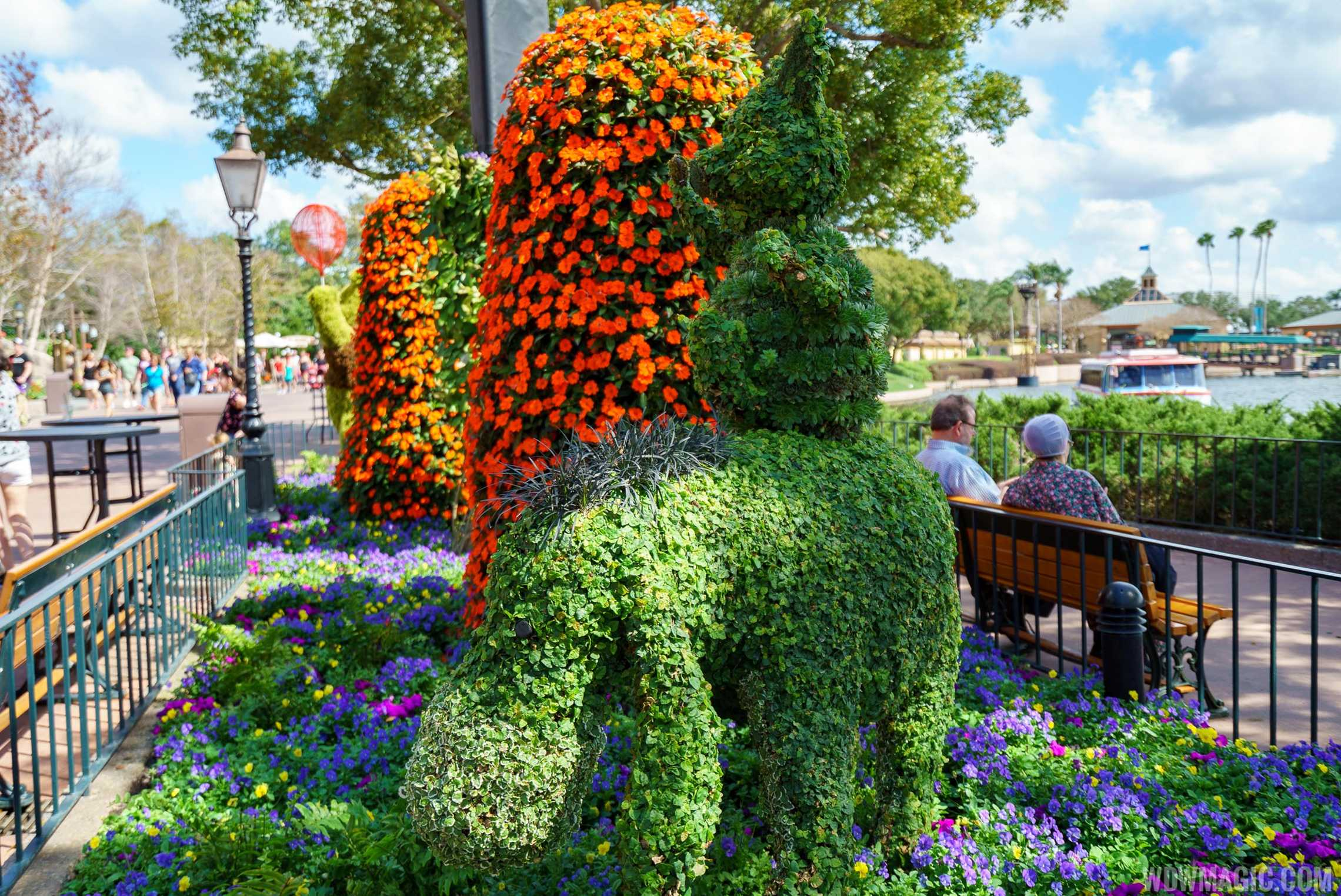 2017 Epcot International Flower And Garden Festival Topiary Tour Photo 44 Of 58