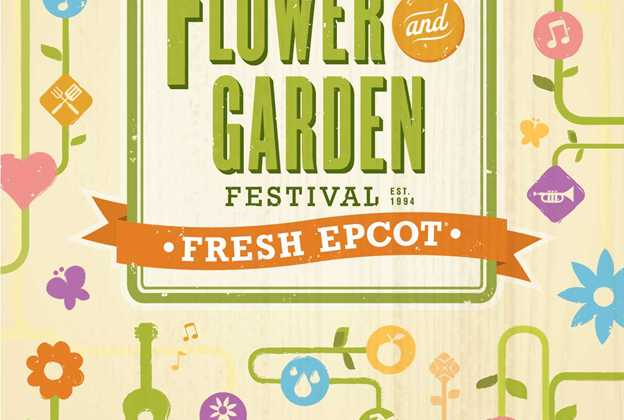 2017 Epcot International Flower and Garden Festival Passport