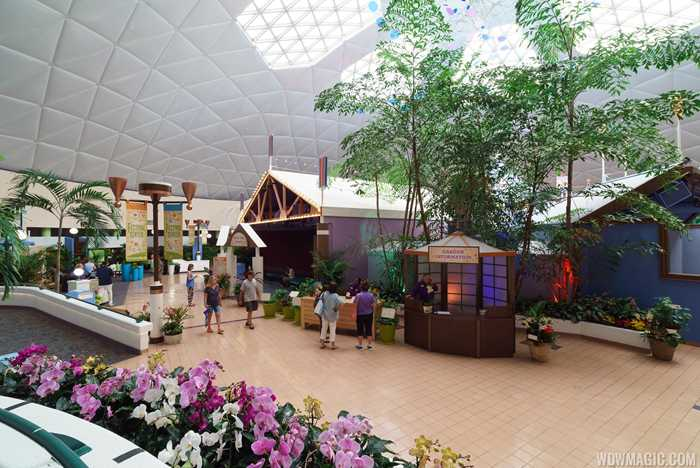 2017 Epcot International Flower and Garden Festival - Festival Center