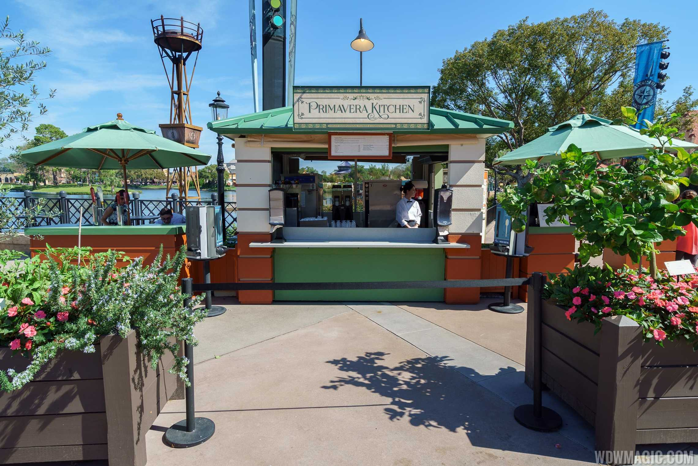 2017 Epcot Flower And Garden Festival Outdoor Kitchen Kiosks And Menus Photo 21 Of 25