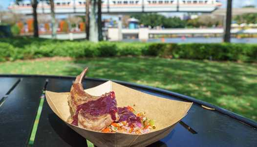 2017 Epcot International Flower and Garden Festival Outdoor Kitchen menus