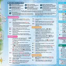 Frozen Summer Fun guide map