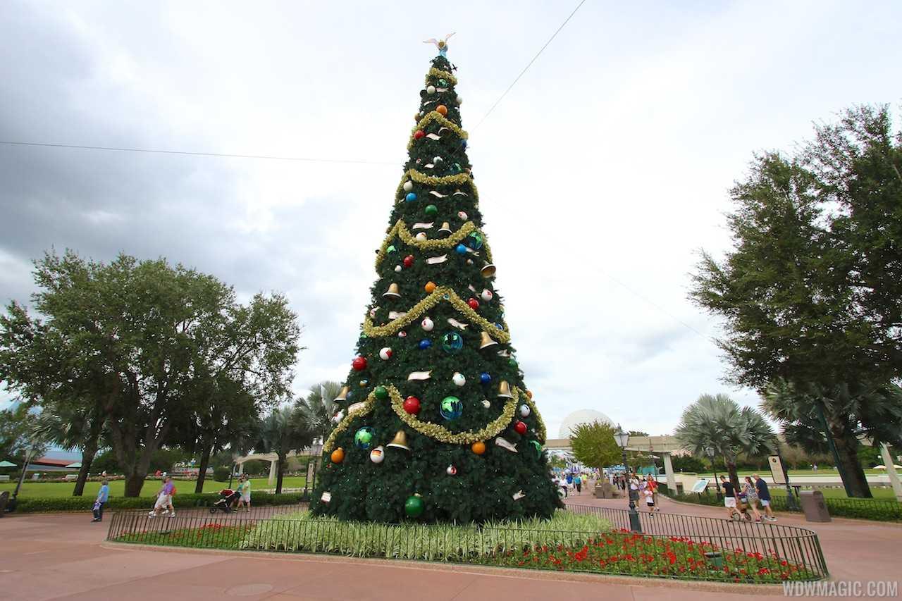 Epcot's 2013 Christmas Tree