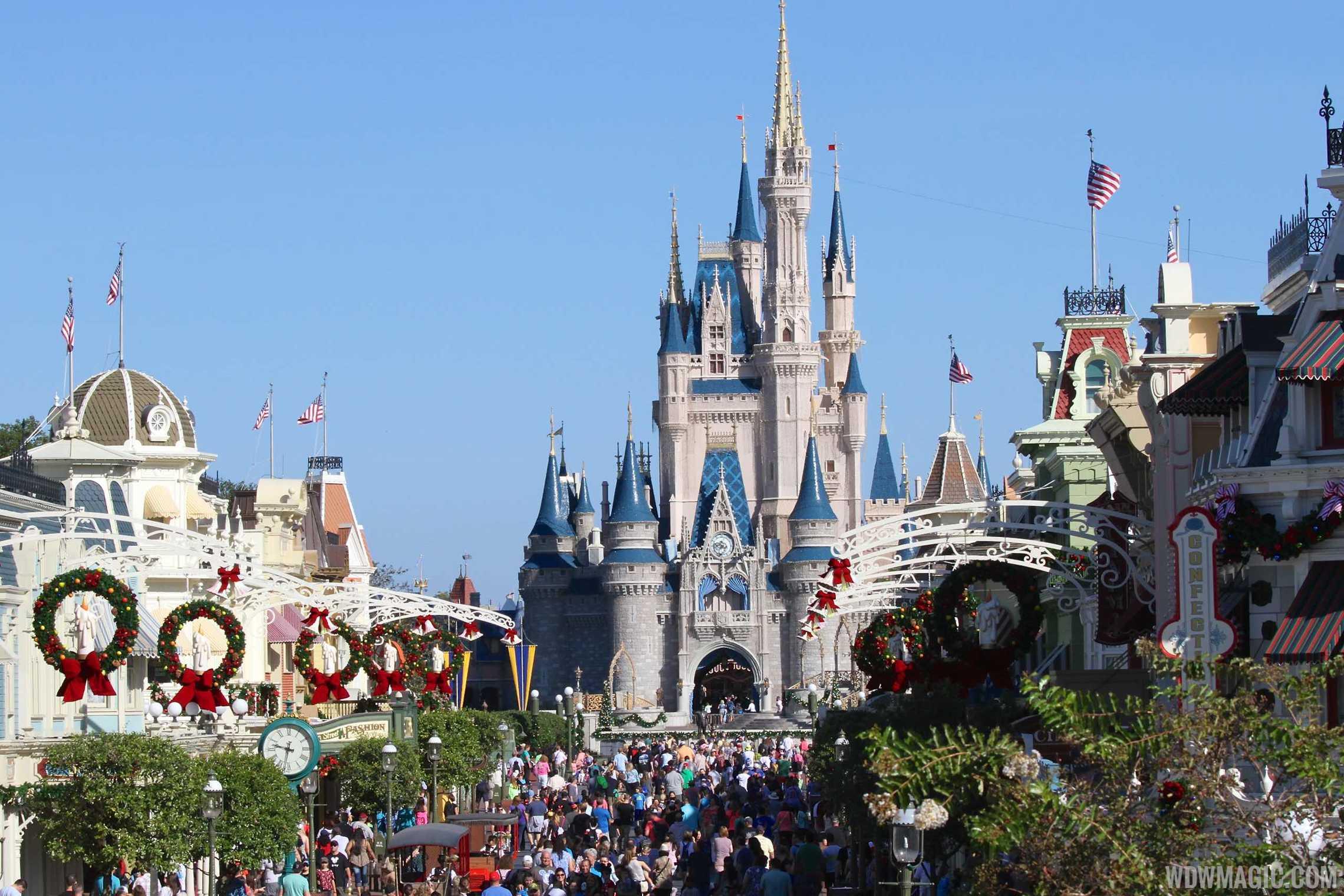 Magic Kingdom decorations