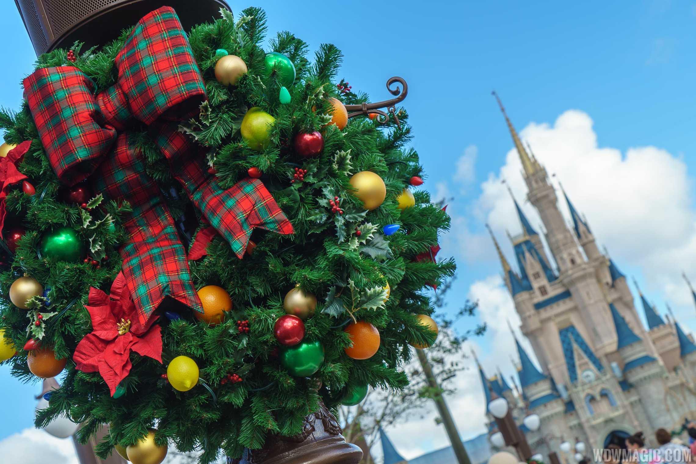 Photos Holidays Get Underway At The Magic Kingdom
