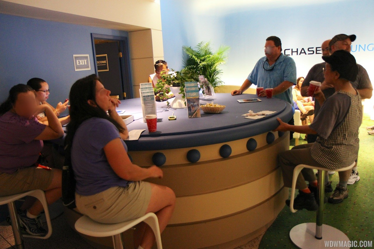 2012 Food and Wine Festival Chase cardholder lounge