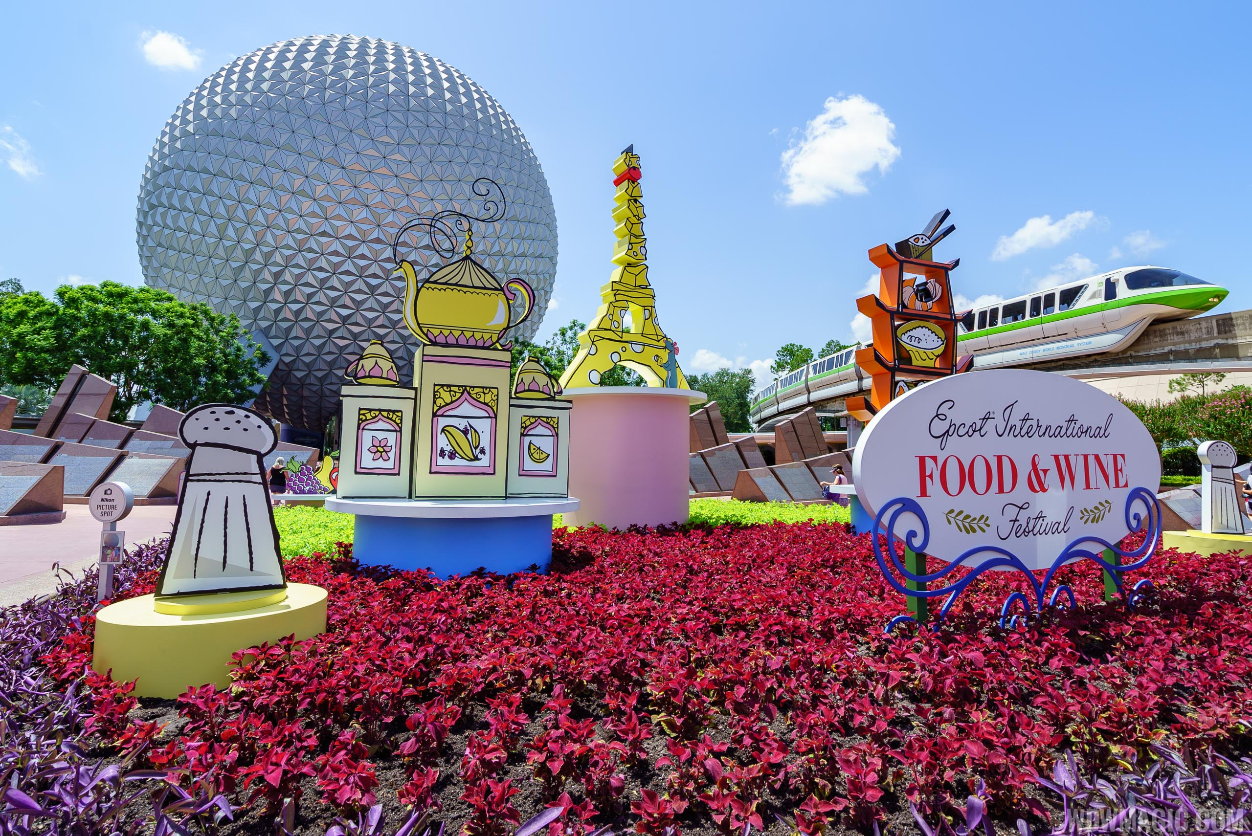Photos The 22nd Epcot International Food And Wine Festival Begins Today