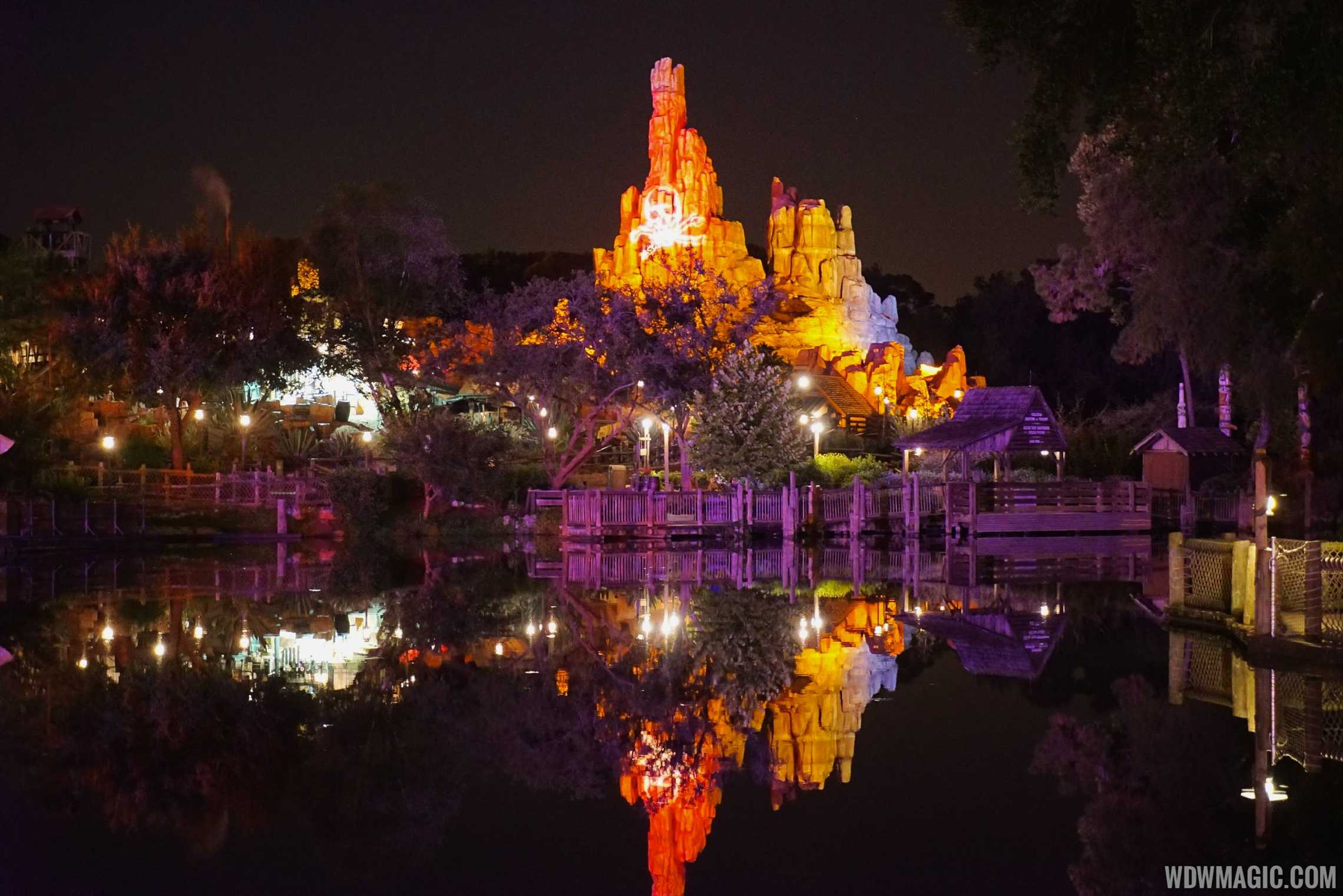 Big Thunder Mountain at Mickey's Not So Scary Halloween Party