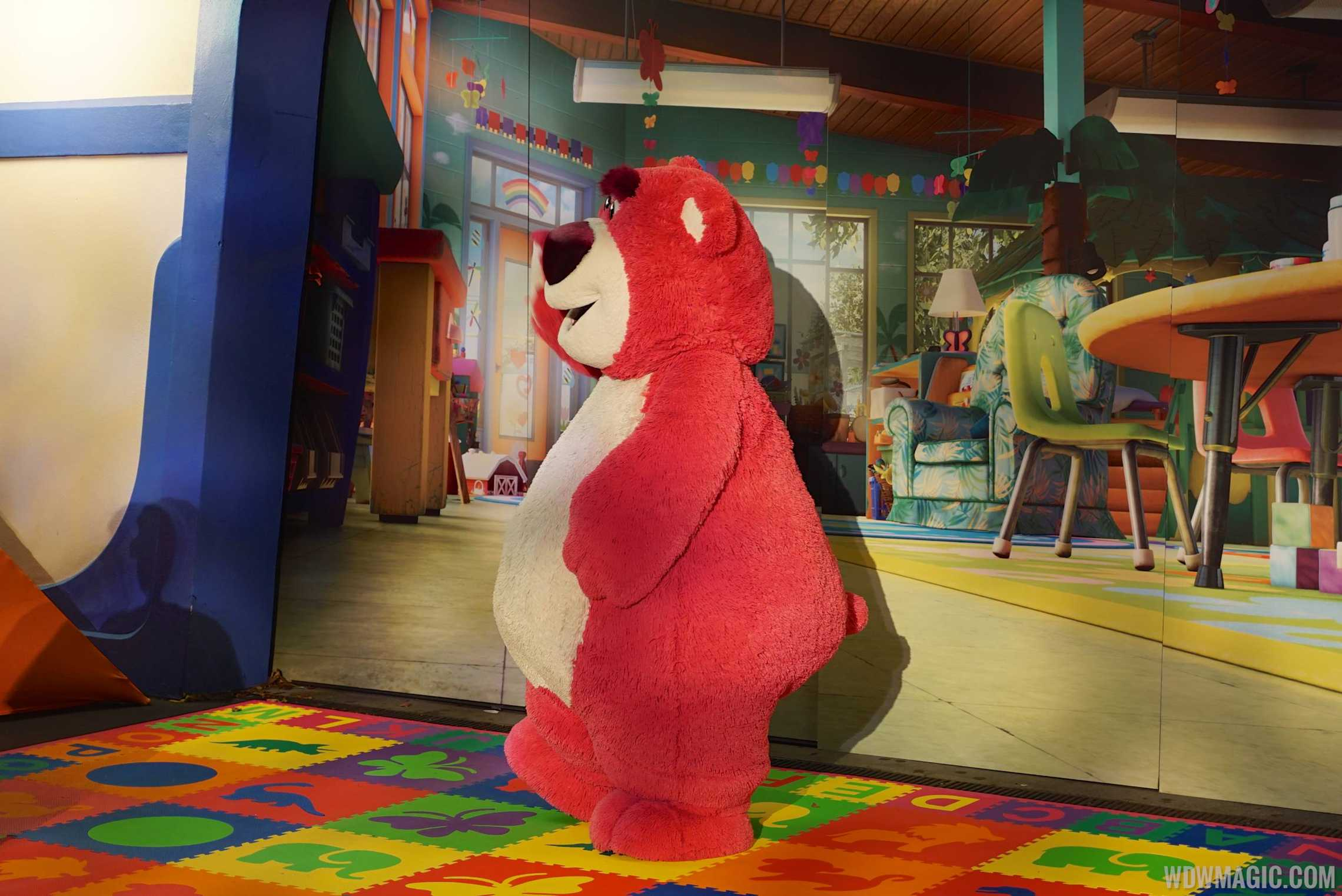 Lotso meet and greet at Mickey's Not So Scary Halloween Party