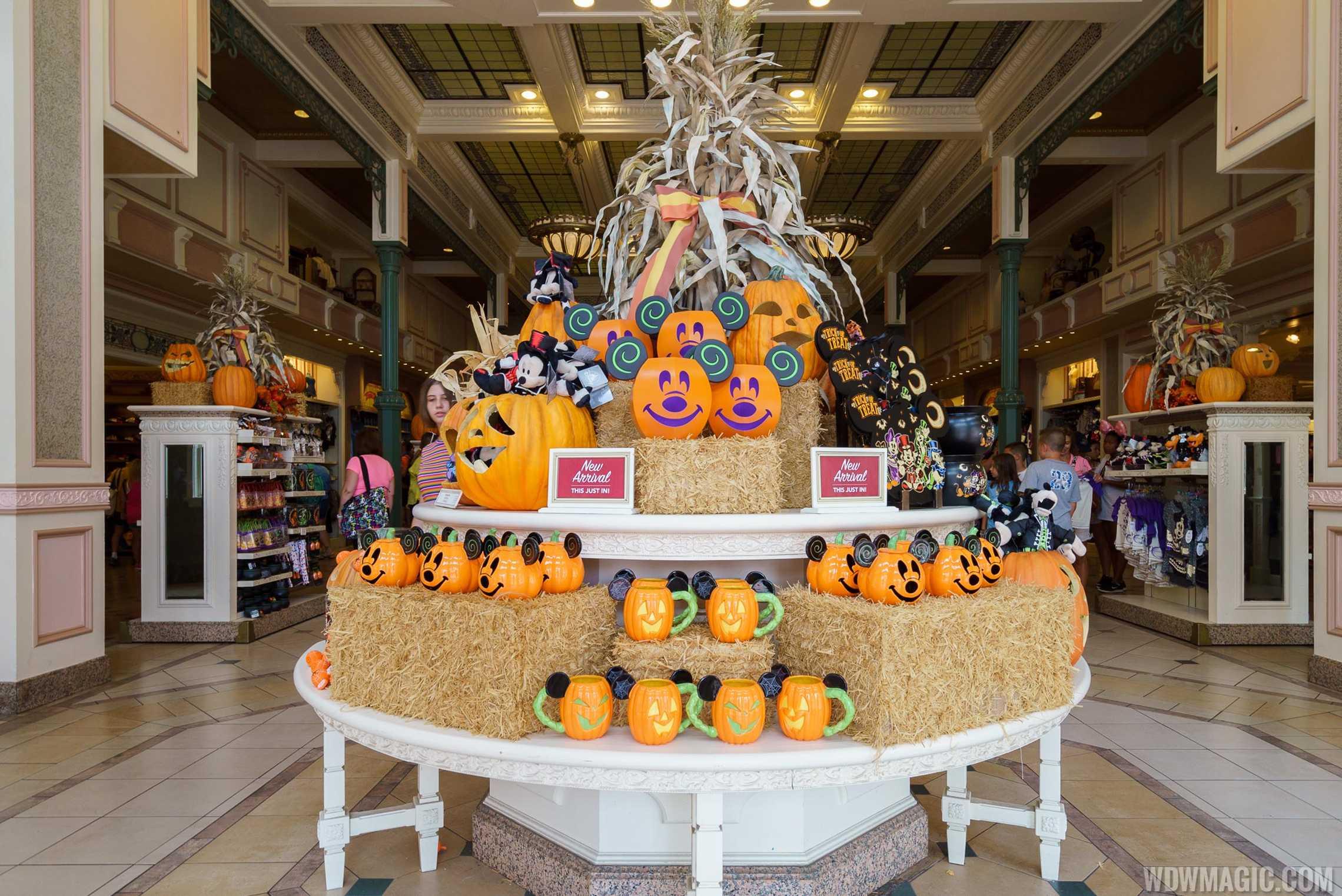 Halloween merchandise at the Magic Kingdom
