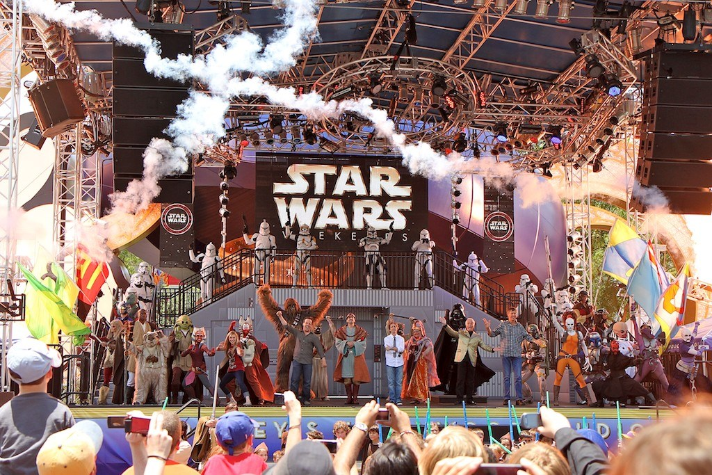 2011 Star Wars Weekends Celebrity welcome - Week 2
