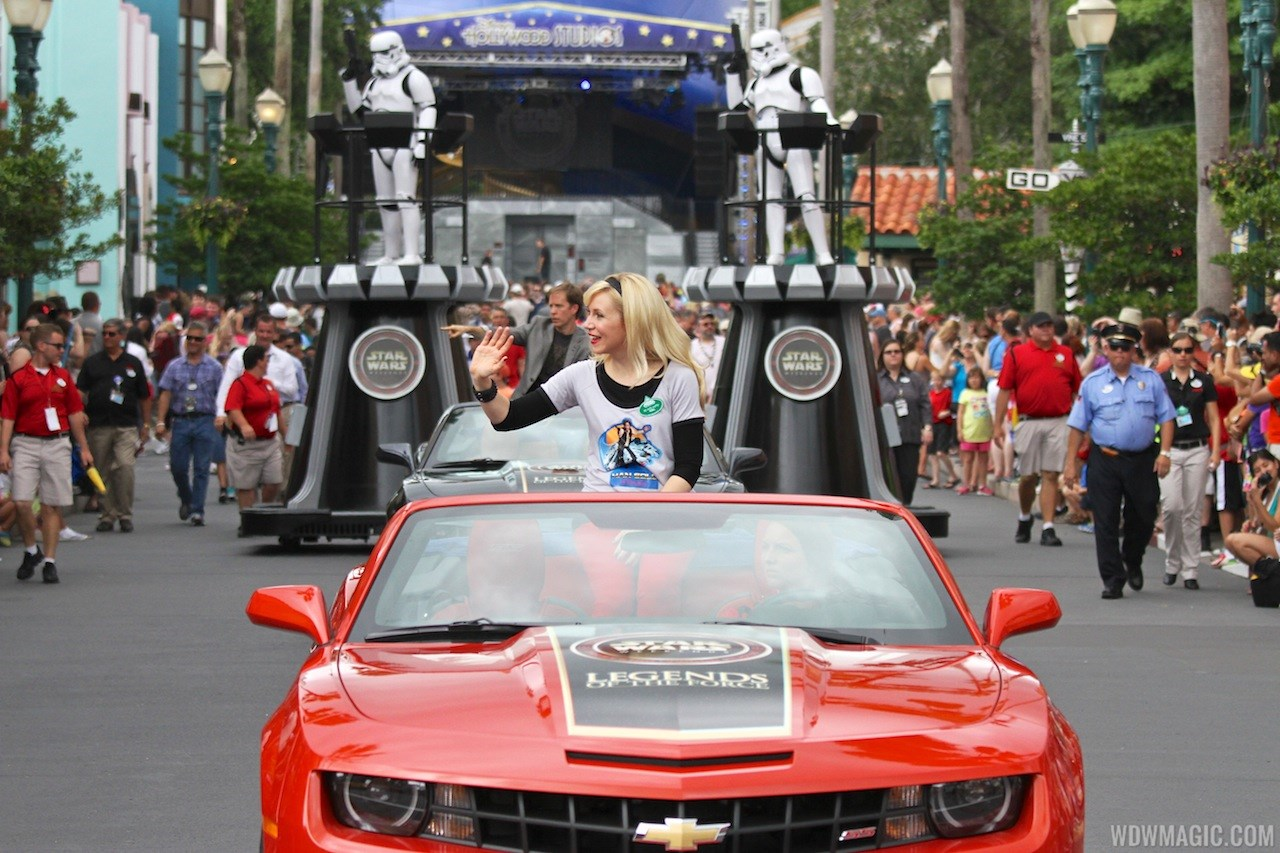 2013 Star Wars Weekends - Weekend 4 Legends of the Force motorcade celebrities