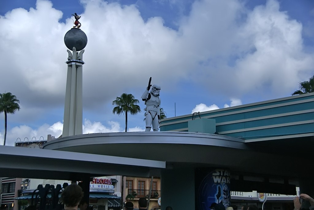 2009 Star Wars Weekends main entrance Storm Troopers