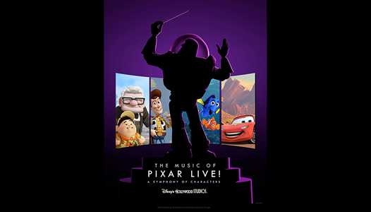 The Music of Pixar Live! coming to Disney's Hollywood Studios this summer