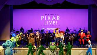 PHOTO - First look at 'The Music of Pixar Live! - A Symphony of Characters'