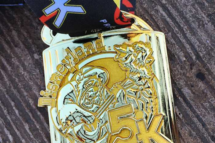 New metal 5K medals