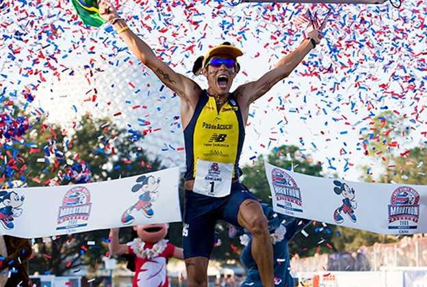 Brazil's Adriano Bastos wins his sixth Disney Marathon