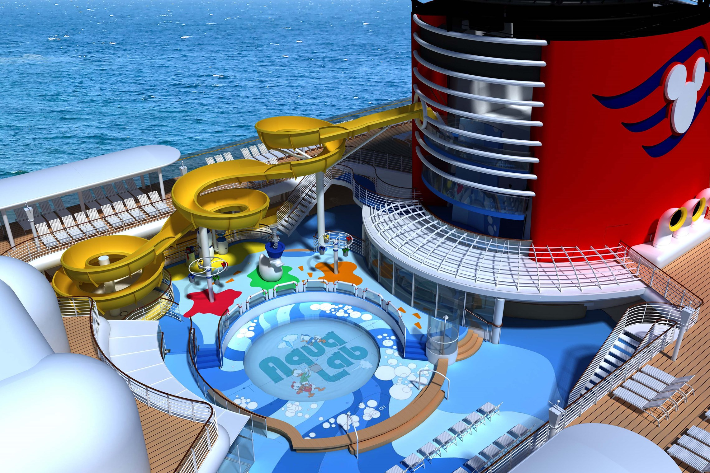 2013 Disney Magic refurbishment concept art