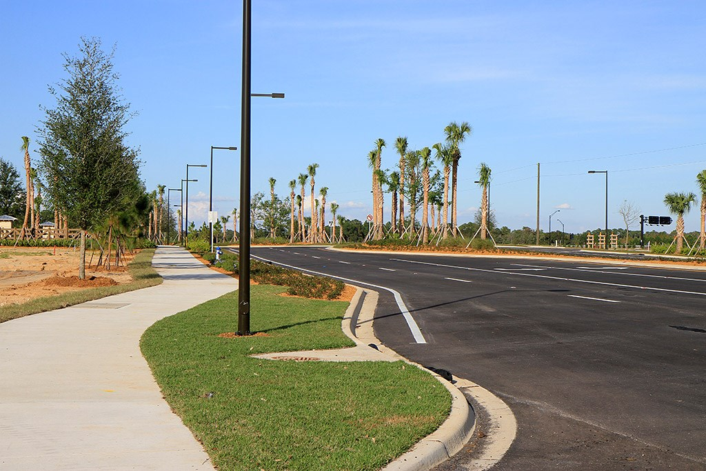 Flamingo Crossings roads open