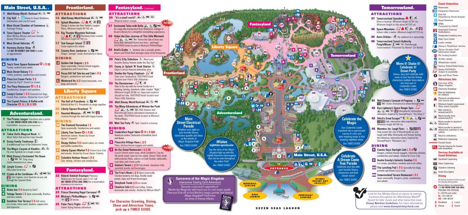 Park Maps 2013