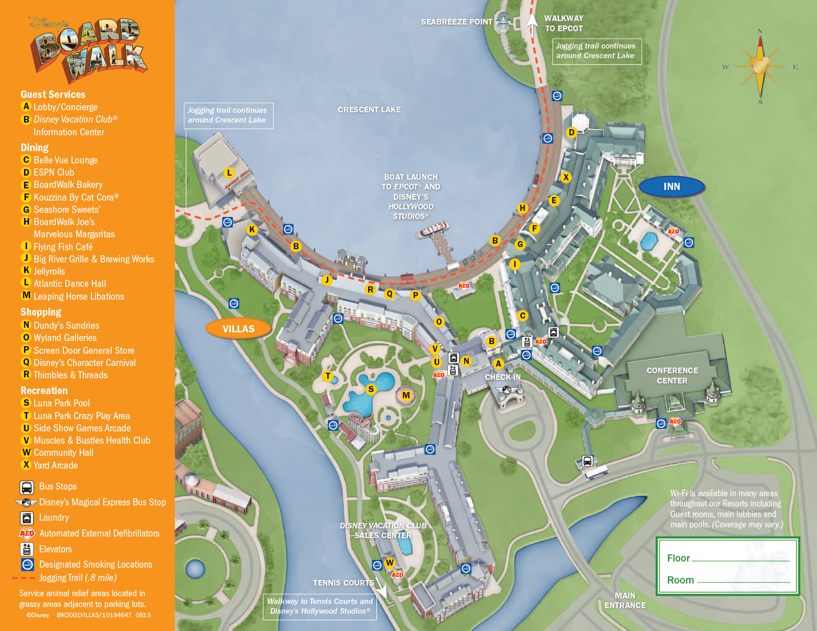 New look 2013 Resort Hotel maps  Photo 1 of 37