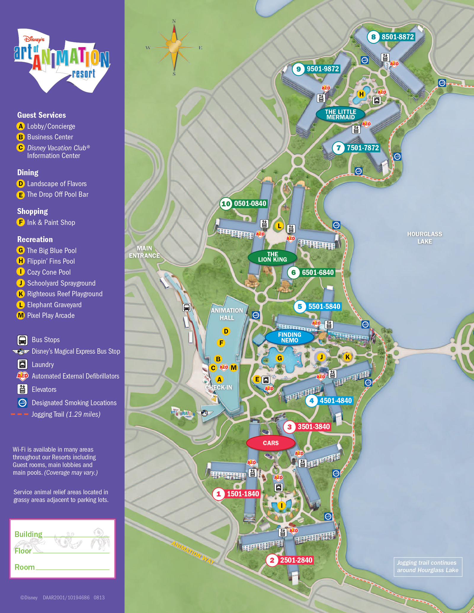 New look 2013 Resort Hotel maps  Photo 26 of 37