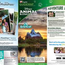 2014 Walt Disney World Park Maps with FastPass+