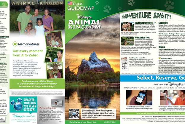May 2015 Walt Disney World Resort Park Maps
