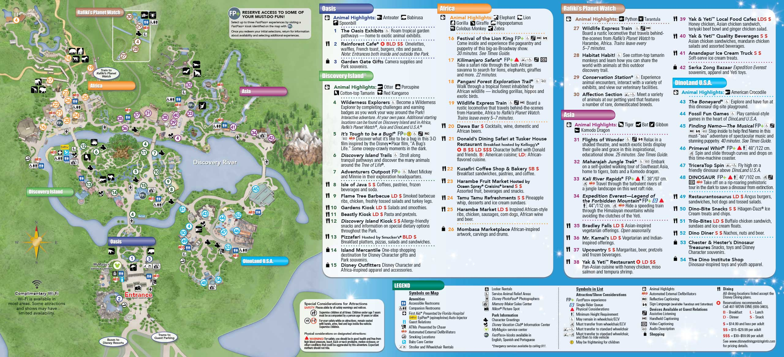 May 2015 Walt Disney World Resort Park Maps Photo 1 Of 14 - 2560x1167 ...