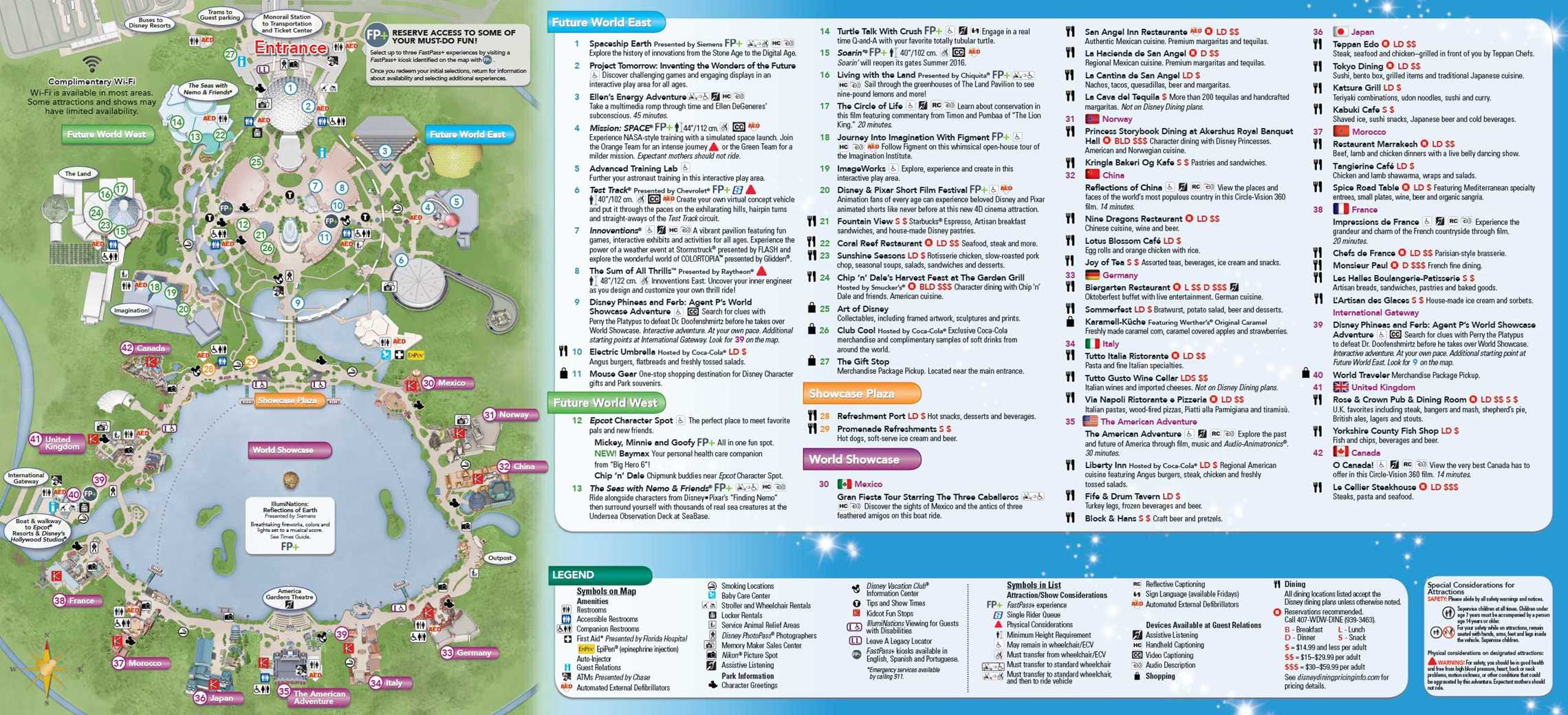 It is a picture of Shocking Printable Maps of Disney World Parks