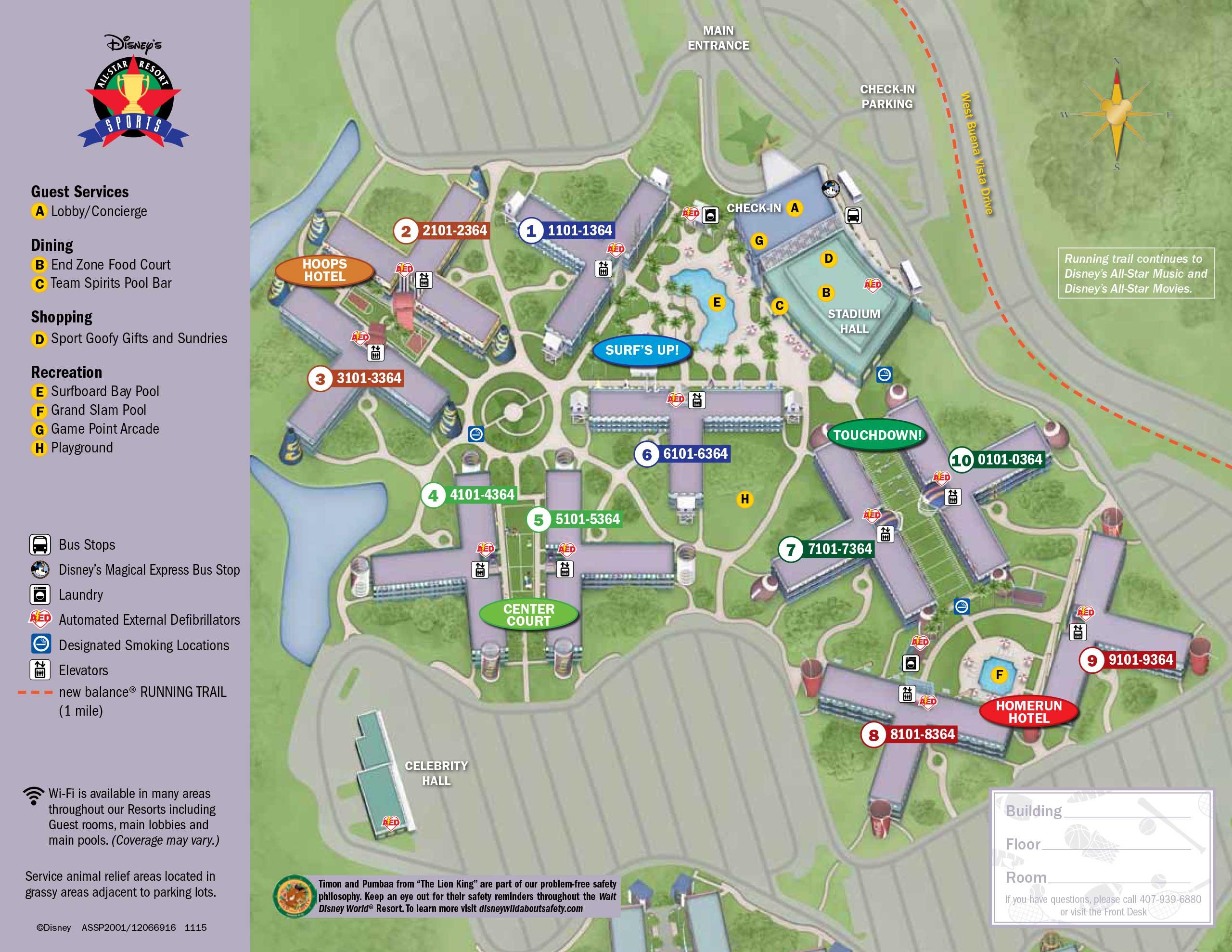 April 2017 Walt Disney World Resort Hotel Maps Photo 4 Of 33: Disney World Hotels Map At Slyspyder.com