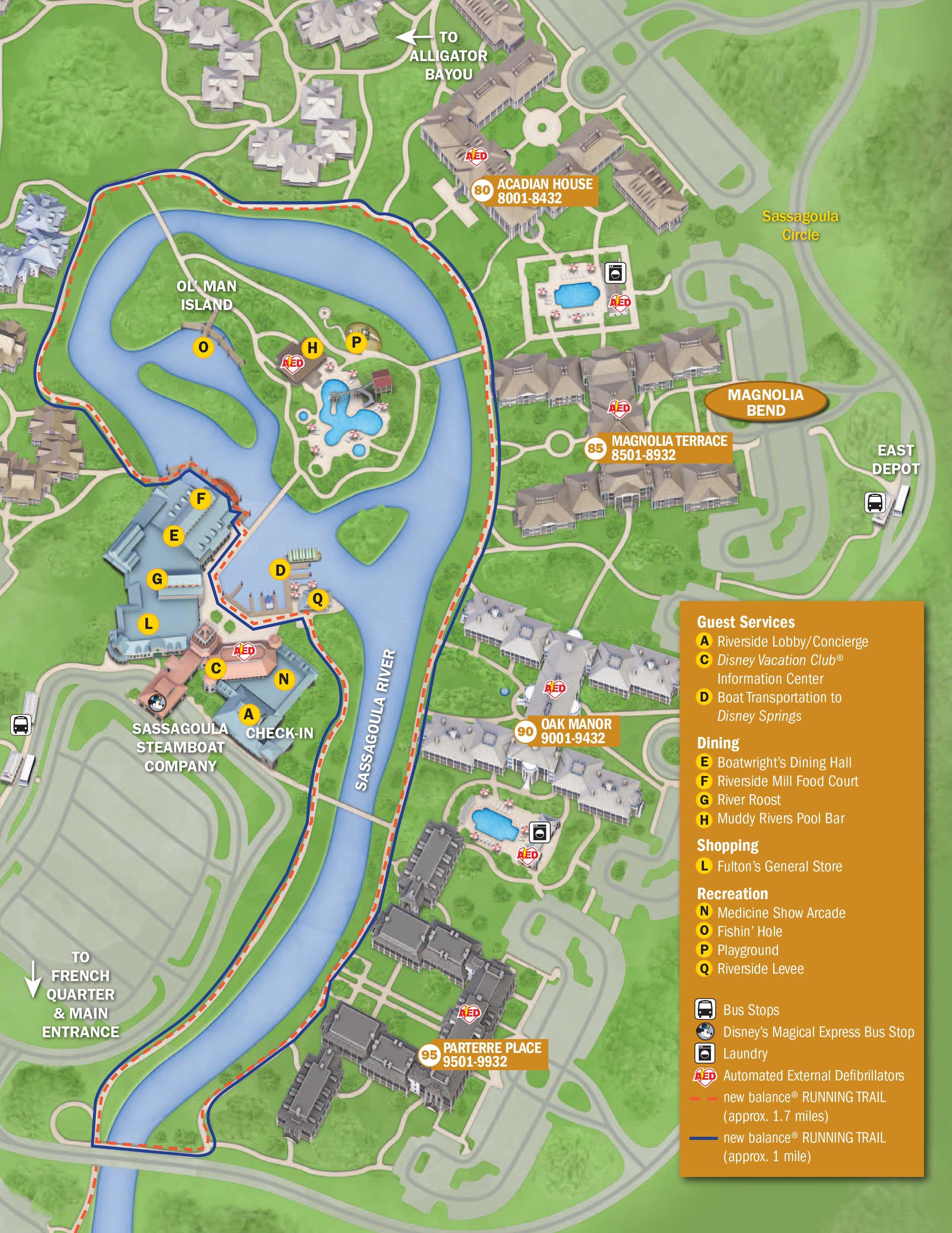 . April 2017 Walt Disney World Resort Hotel Maps   Photo 30 of 33