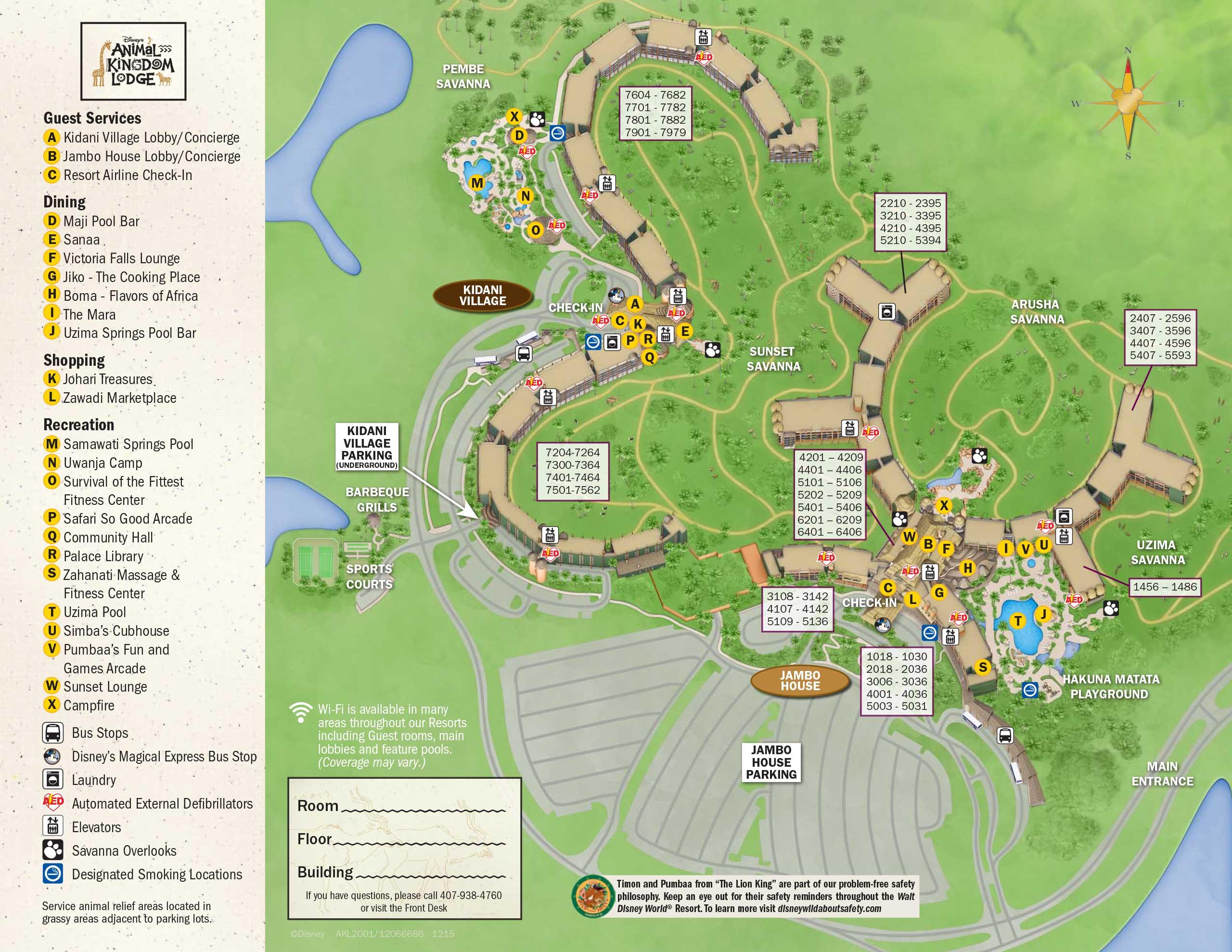 April 2017 Walt Disney World Resort Hotel Maps Photo 22 Of 33: Disney World Hotels Map At Slyspyder.com