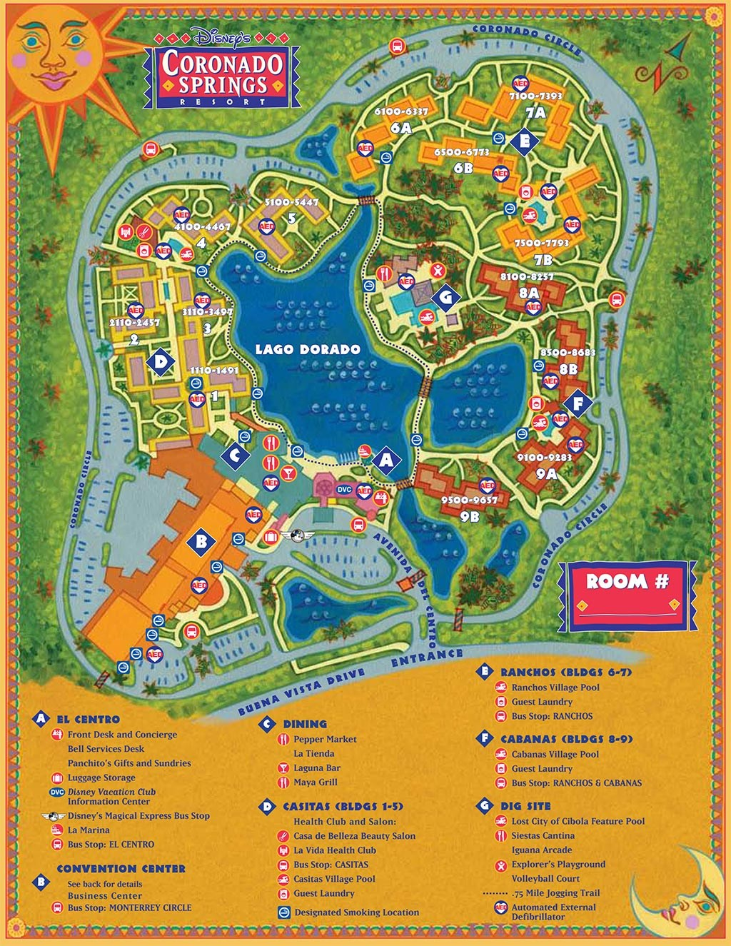 Resort Maps 2008