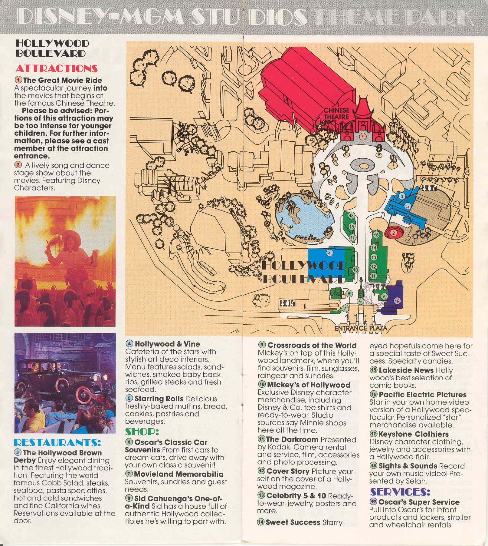 Map of Map Of Disney World Mgm Studios, - World Map Database Disney Hollywood Studios Map on