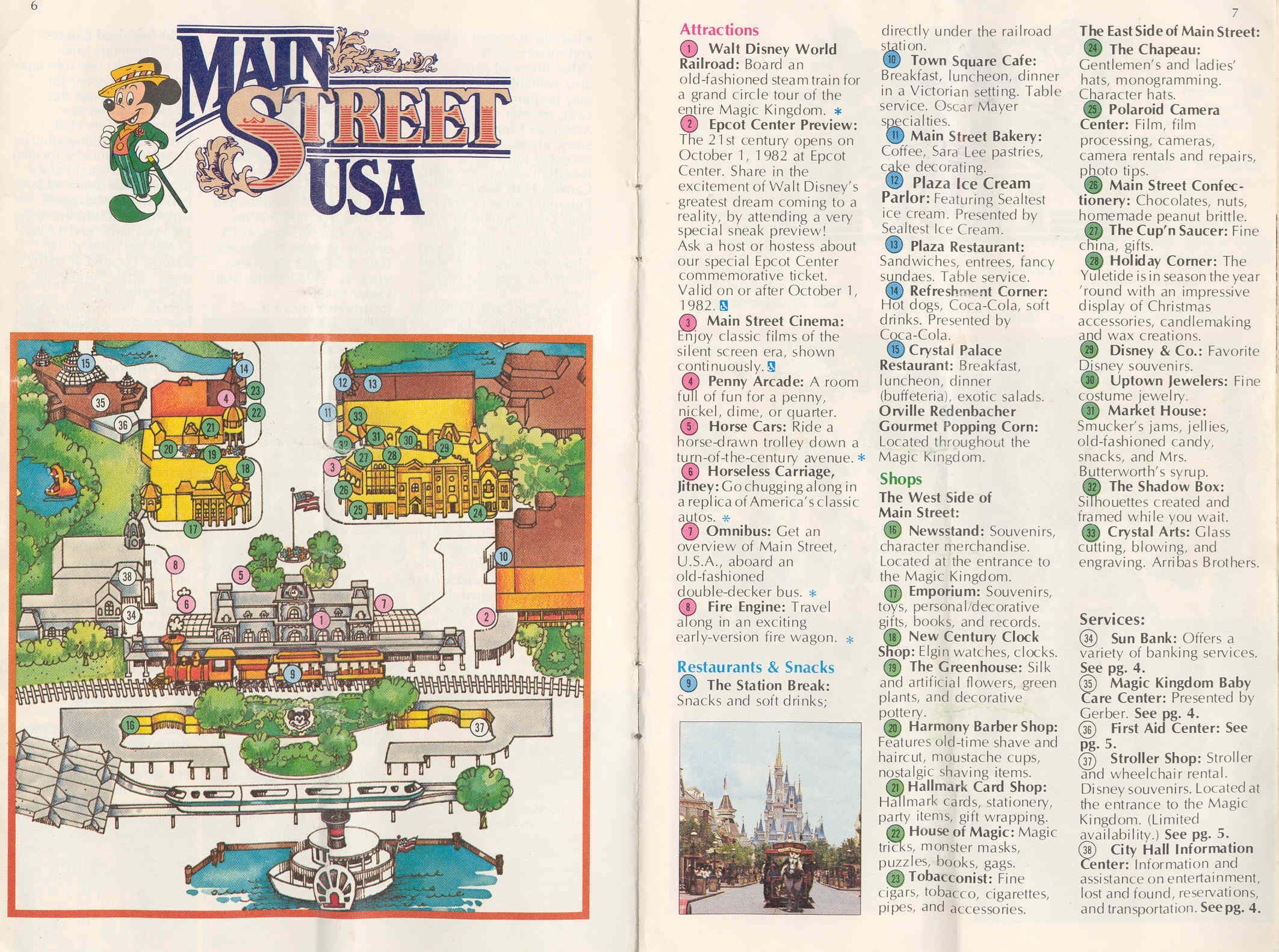 Magic Kingdom Guide Book 1982