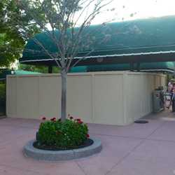 MyMagic+ RFID turnstiles installation at Epcot's International Gateway