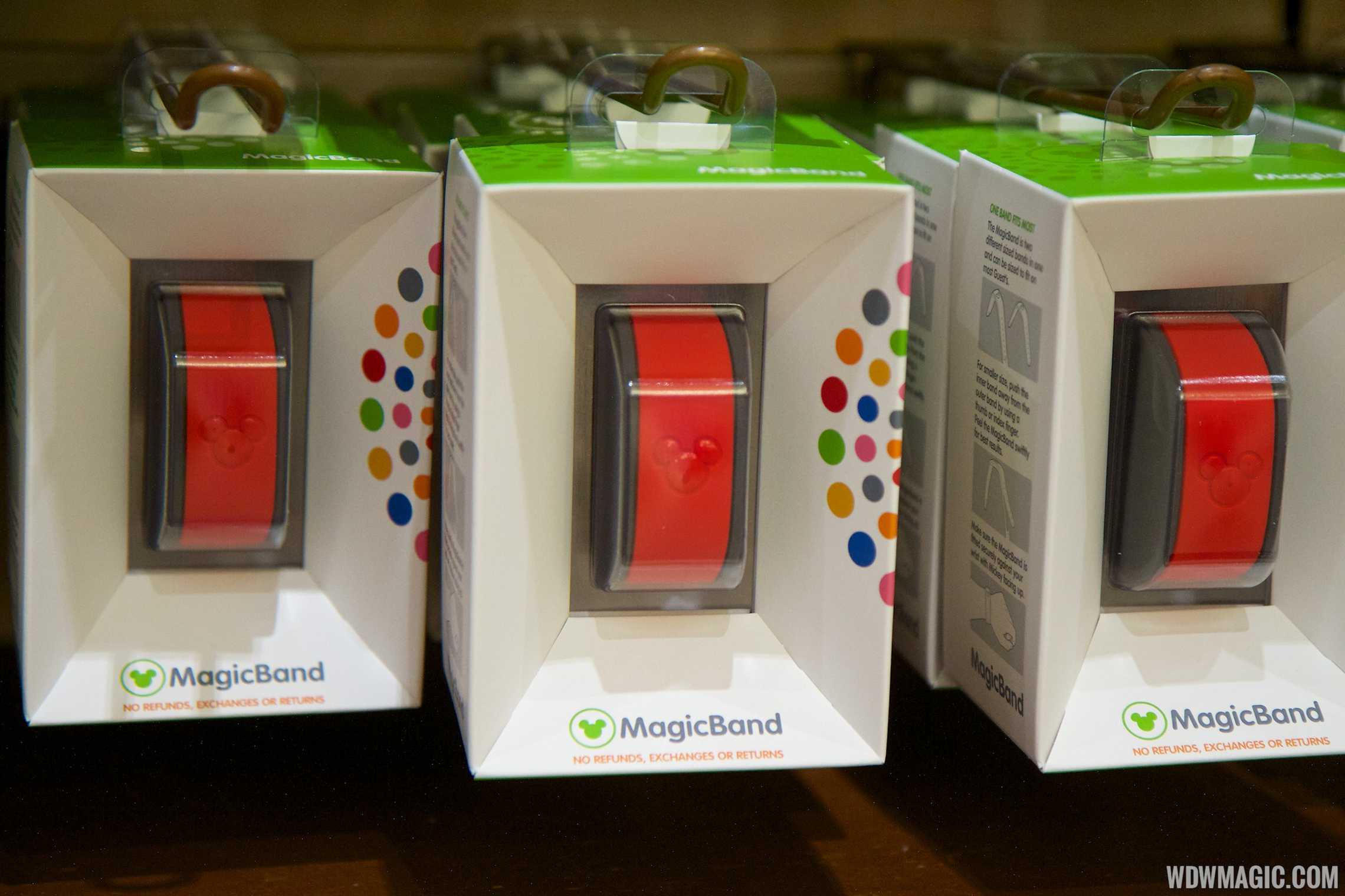 MagicBand retail box