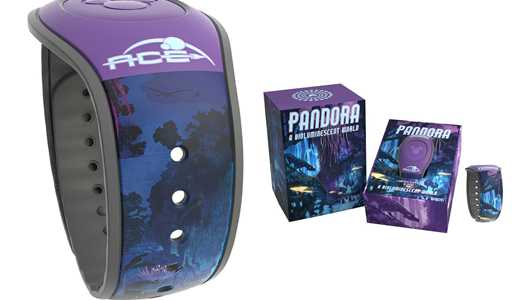 PHOTO - Pandora Limited Edition MagicBand now on sale