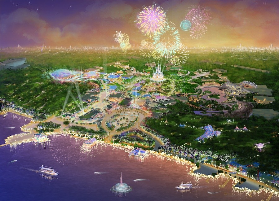 Shanghai Disney Resort concept art