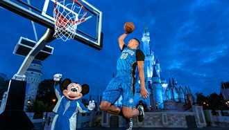 Walt Disney World Resort becomes the Orlando Magic's first jersey sponsor