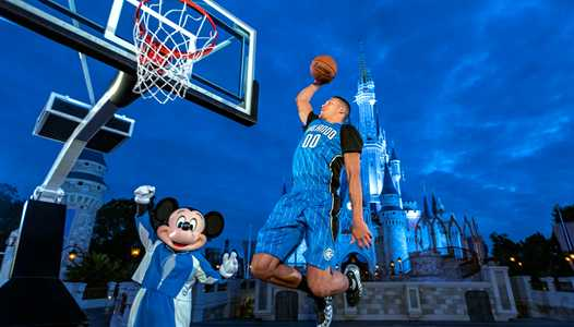 Walt Disney World Resort becomes the Orlando Magic's first jersey sponsor