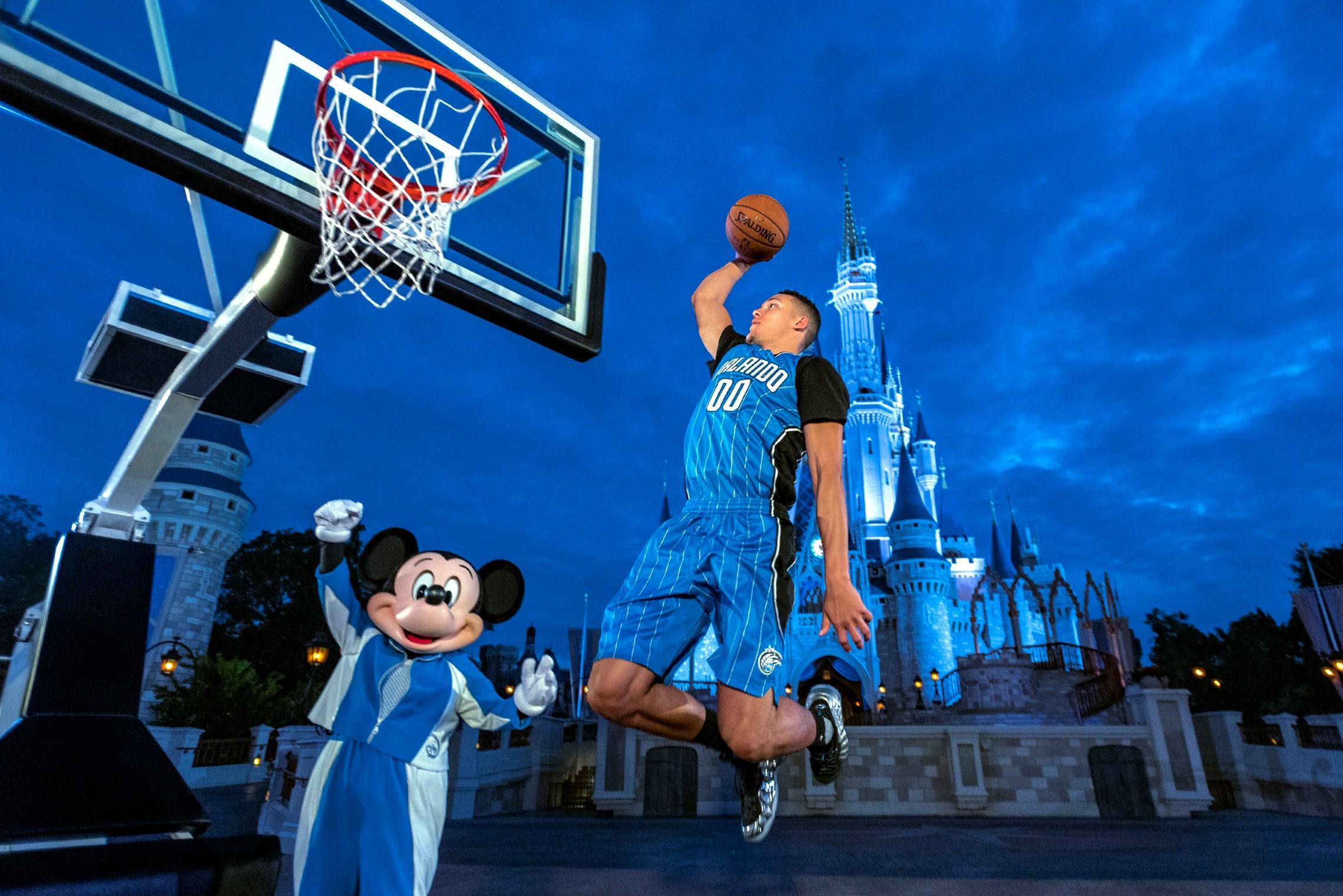 Walt Disney World Resort Orlando Magic jersey sponsorship