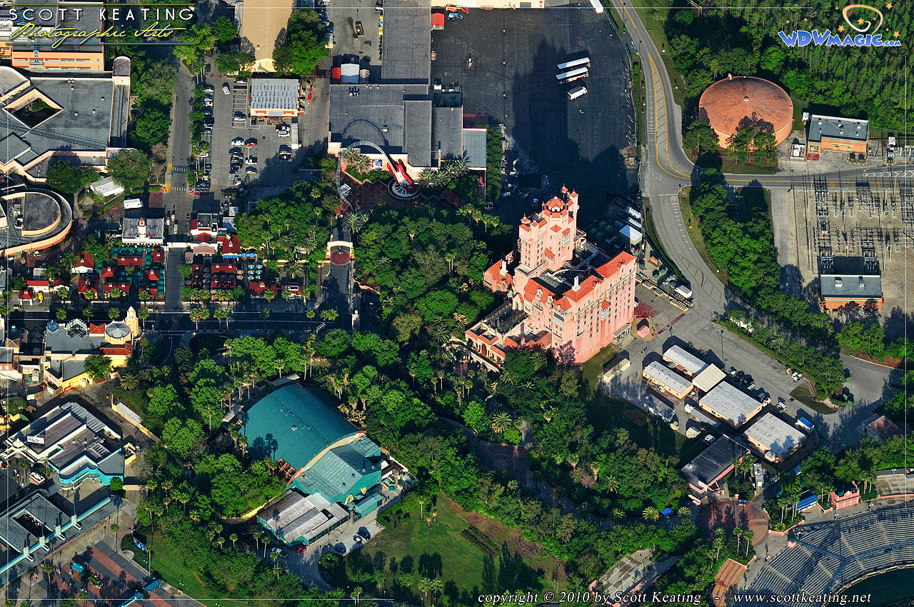 World News Gallery: NEW! Aerial Photographs Of The Magic Kingdom