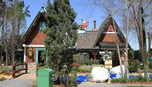 Winter Course at Winter Summerland Miniature Golf closed today