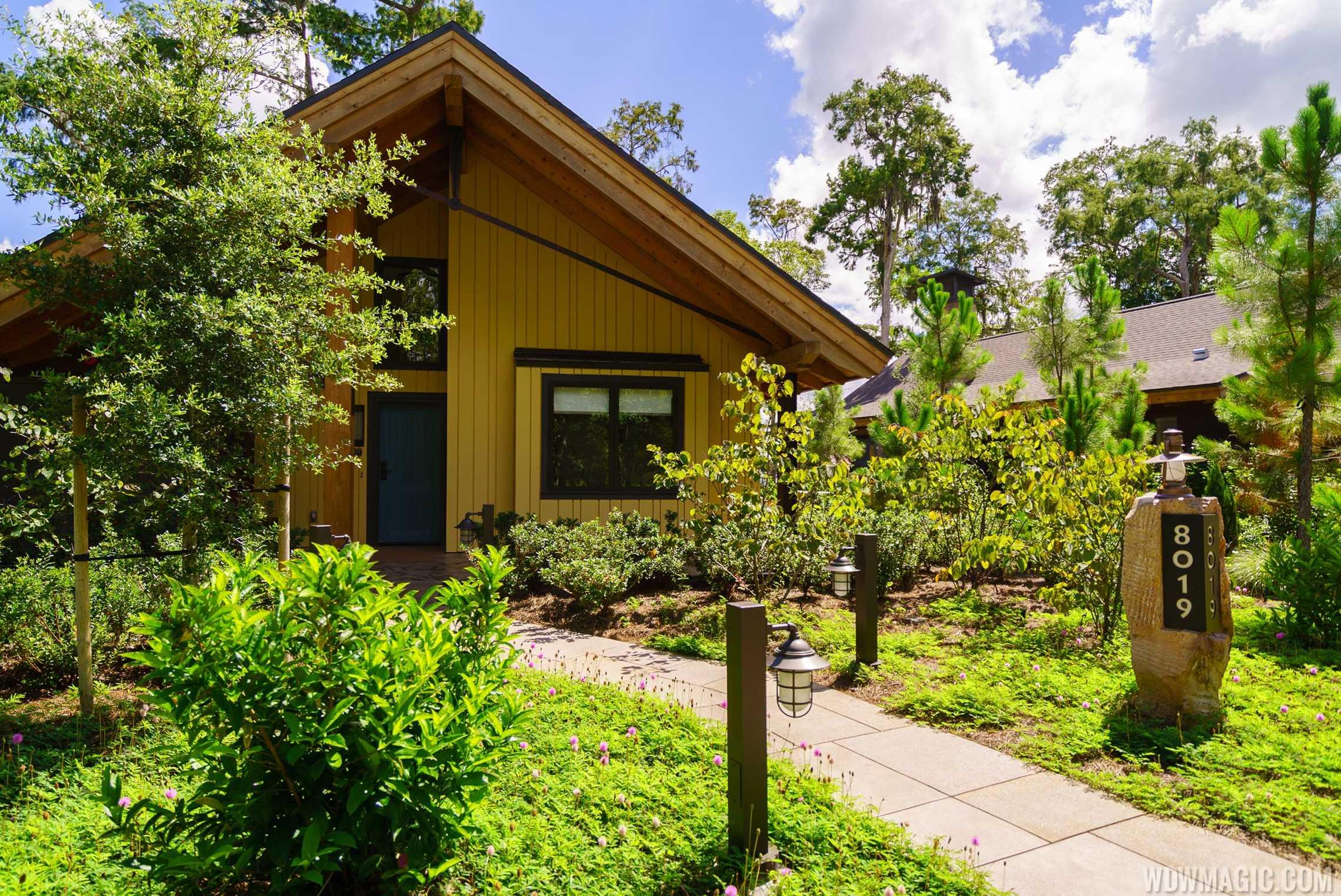 Copper Creek Villas and Cabins at Disney's Wilderness Lodge - Cabin Exterior